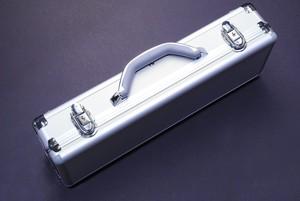 알루미늄 실버 나이프케이스 5슬롯(457MM x 152MM x 102MM)